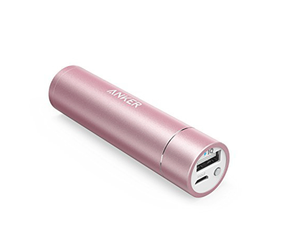 #9 useful gifts & work gadgets for her: Lipstick sized power bank