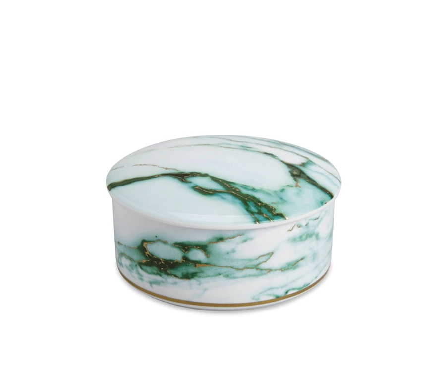 #1 Home Decor Gifts For Her: Marble Jewelry Box