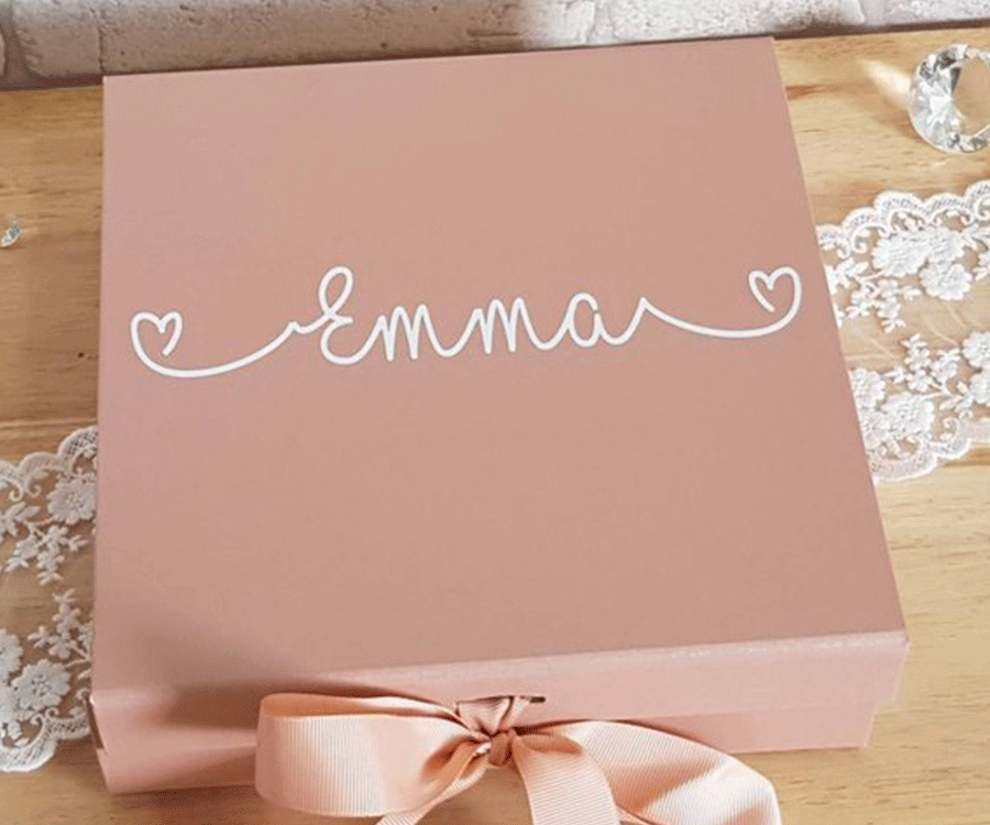 #7 Unique Engraved & Personalized Gifts for her: A Personalized Gift Box