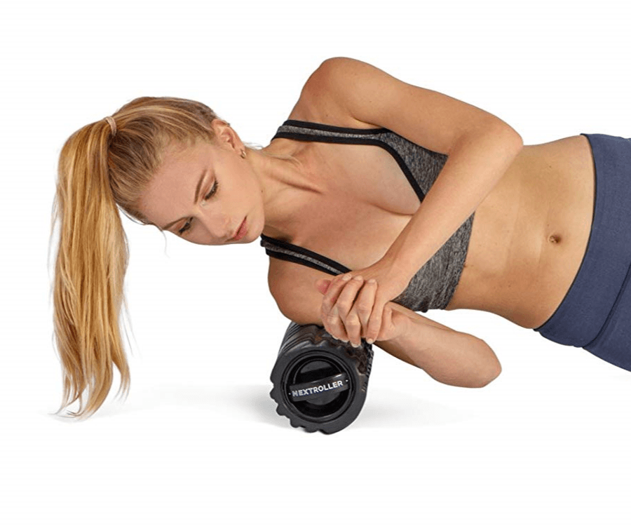 #10 yoga gifts for her: Vibrating Foam Roller for Sports Massage & Recovery