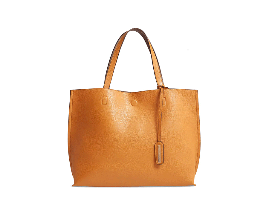 #5 great gifts for fashionista: Reversible Leather Tote Bag