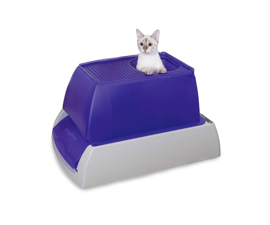 #9 unique gifts for cat lovers: Scoopfree Self Cleaning Litter Box