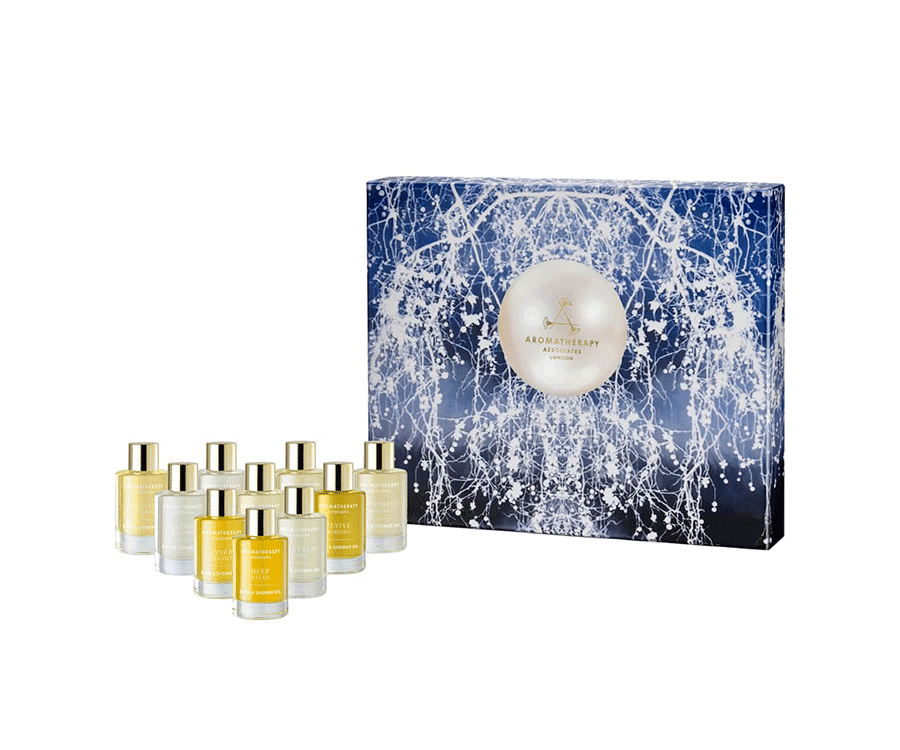 Aromatherapy Associates Essential oils collection: a perfect example of a valentines day gift to pamper herself
