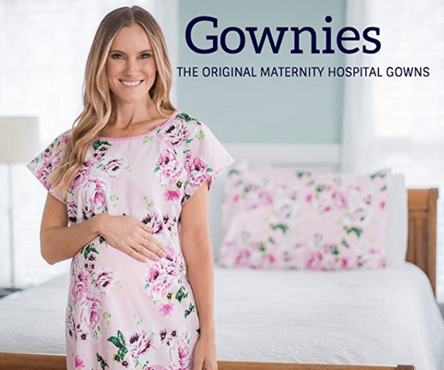 Baby be mine pregnancy gownies forms a great gift for a pregnant wife