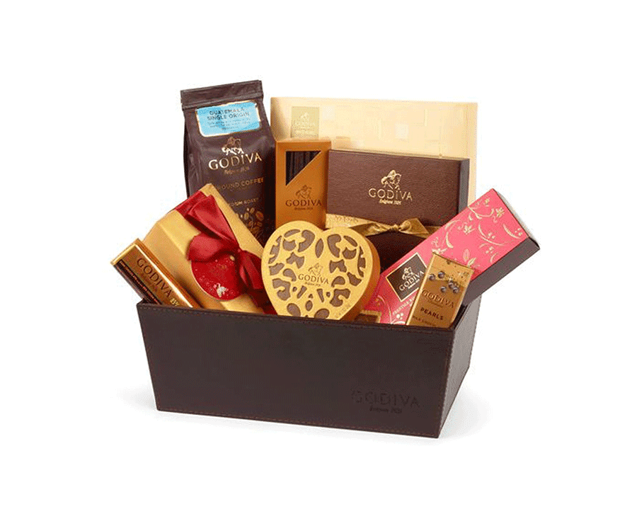 Godiva Chocolate Hamper: The Perfect Classic Valentines Gift for Her