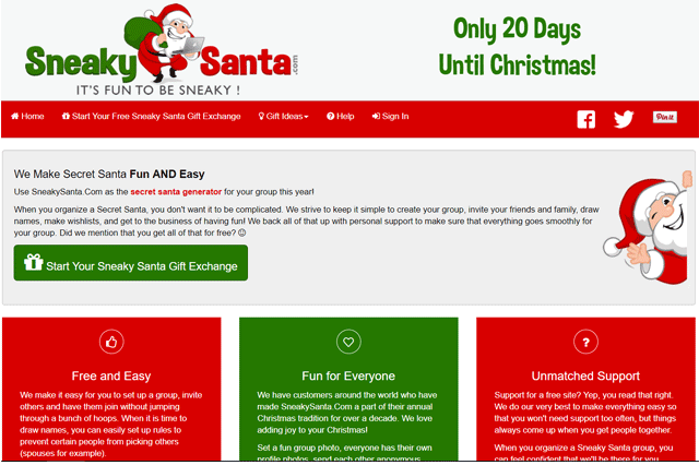 Secret Santa Generator Tools Useful Tips The Gift Hacker