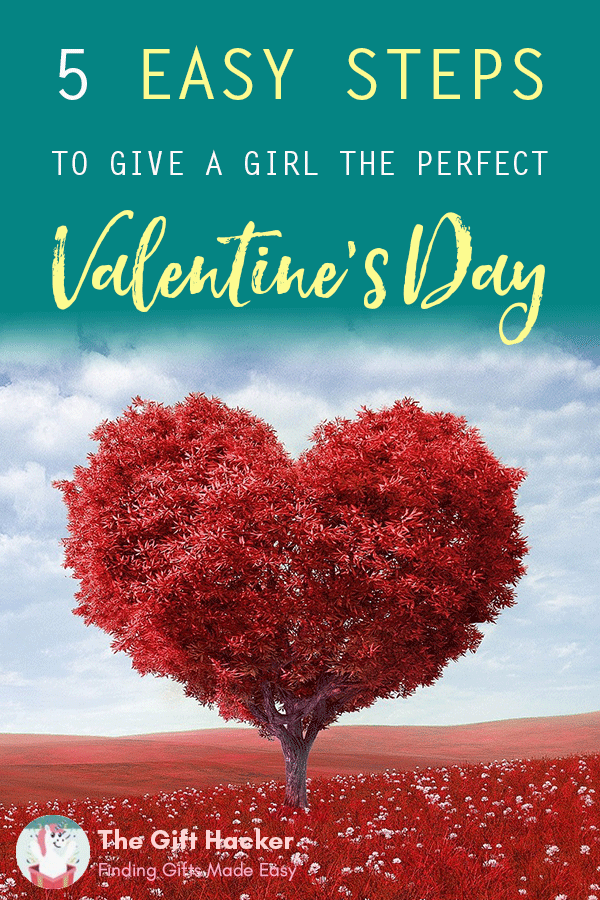 5 Easy Steps to give a girl the perfect Valentine's Day: A love tree in a field