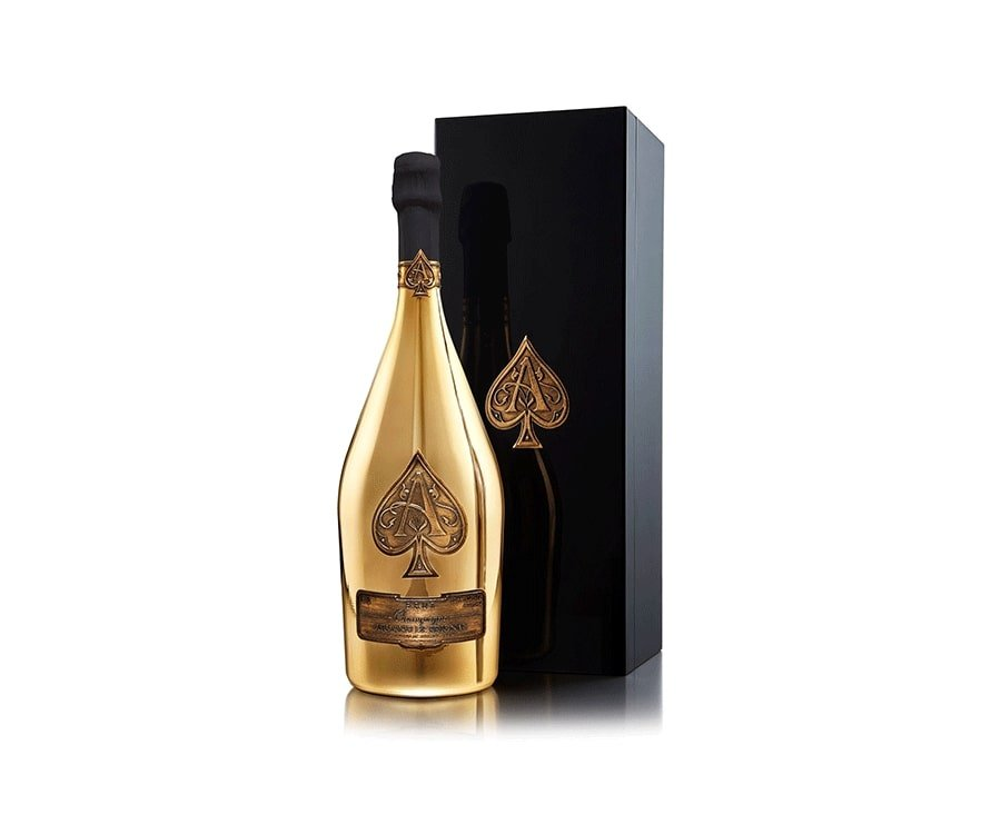 #13 over the top luxury gifts for her: Armand de Brignac Gold Champagne