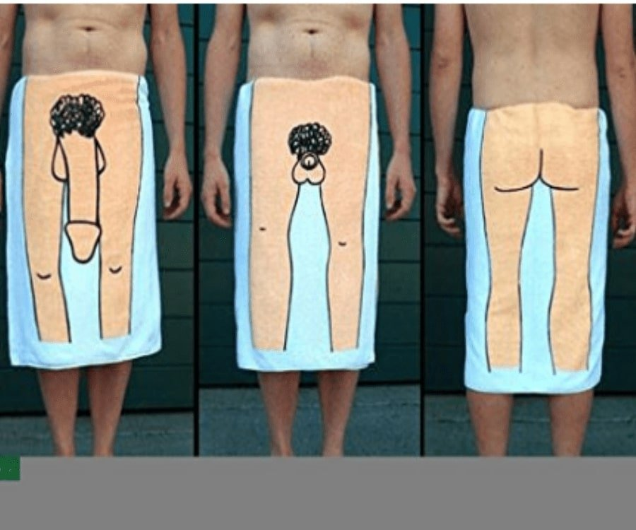 #7 Best Adult gag gift: Dick Towels