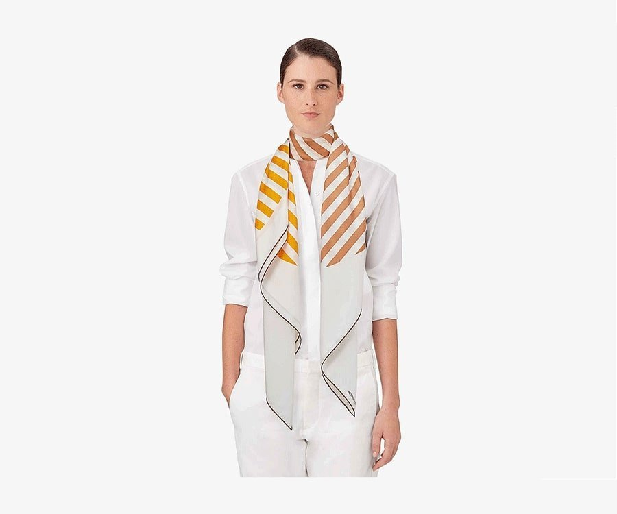 #22 Over the top luxury gifts for her: Hermes Pois Optique Scarf