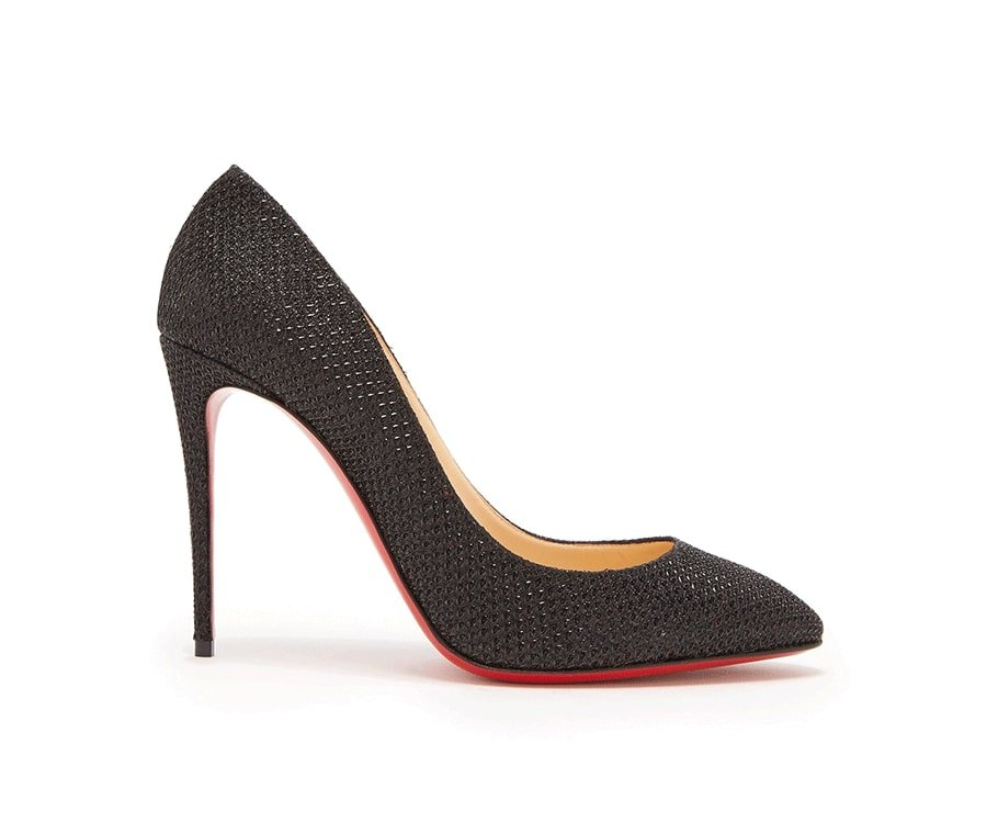 #1 over the top luxury gifts for her: Eloise Glitter Pumps by Christian Louboutin