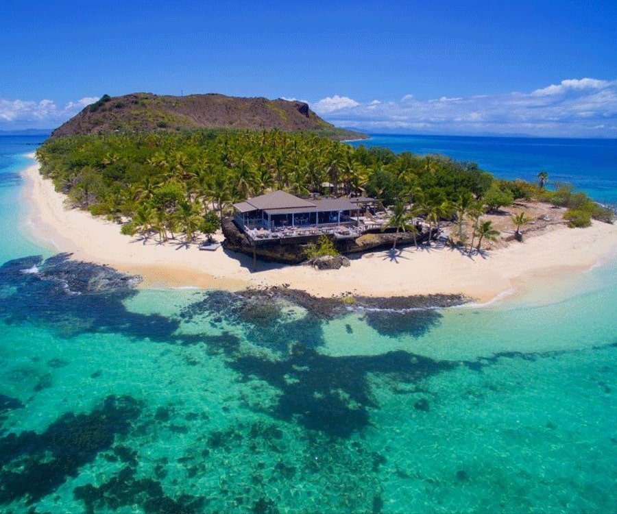 #17 over the top luxury gifts for her: a stay on a private island