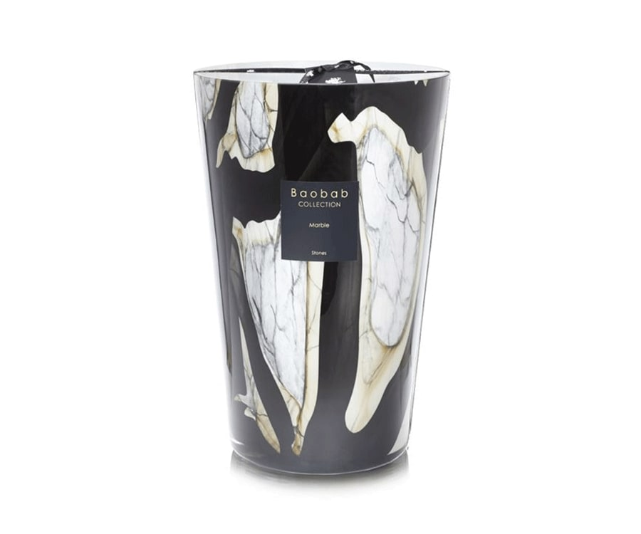 #14 Over the top luxury gifts for her: Boabab Marble Scented Candle