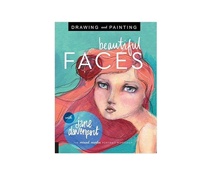 #4 best gift for painters: book painting faces