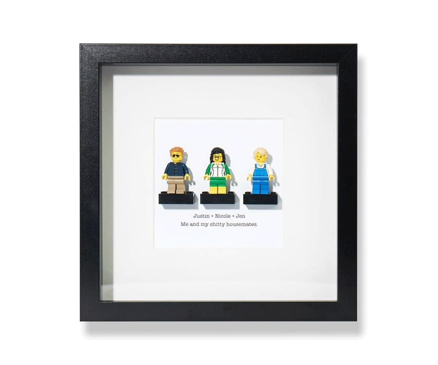 #3 Unique Engraved & Personalized Gifts for her: Brick Yourself Lego