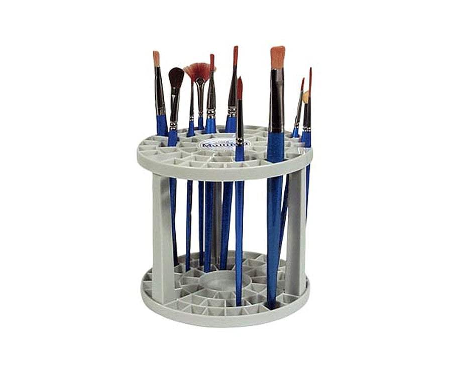 #28 best gifts for painters: a brush organizer
