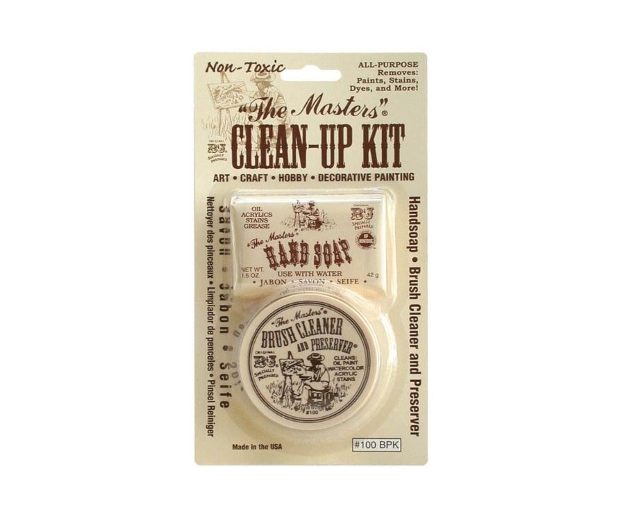 #8 best gifts for painters: clean up kit
