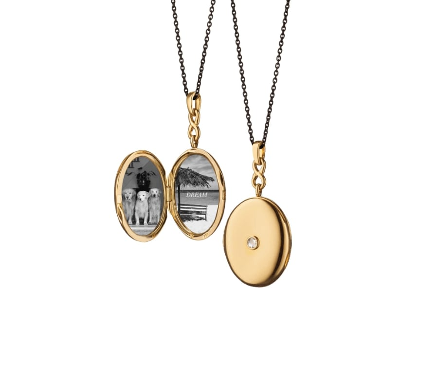 #4 Over the top luxury gifts for her: Diamond Locket Monica Kossnan