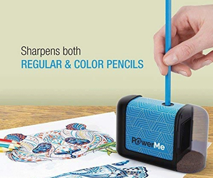 #17 cool gifts for sketch artists: electric pencil sharpener