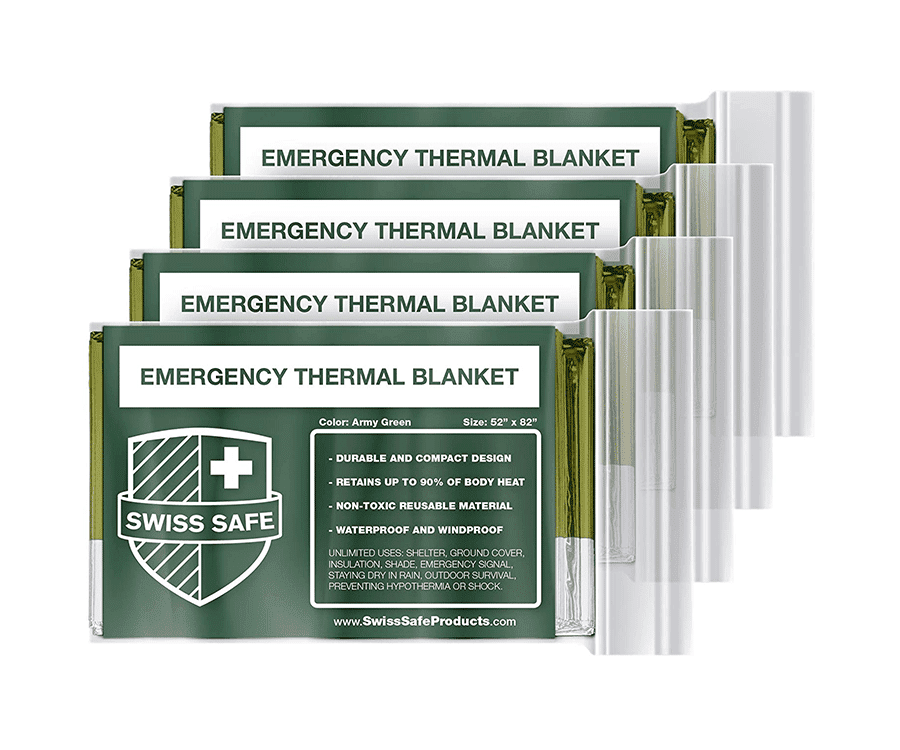 #10 very best gifts for hikers & backpackers: emergency thermal blanket
