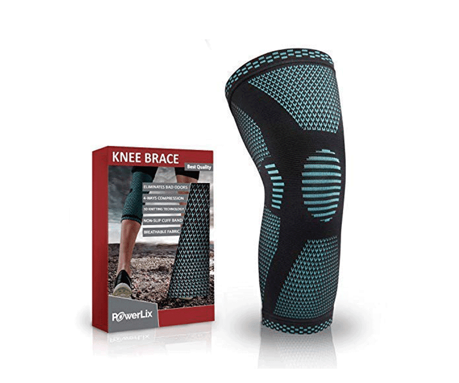 #4 very best gifts for hikers & backpackers: compression knee brace