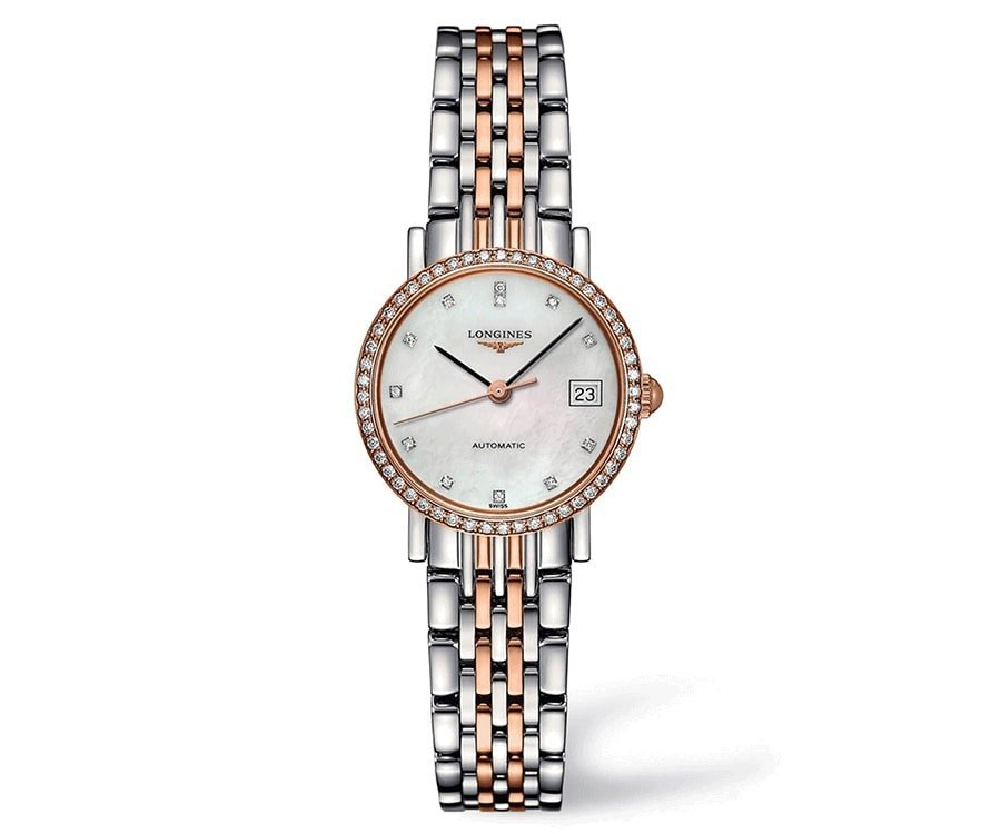 #6 Over the top luxury gifts for her: Diamond Watch Longines