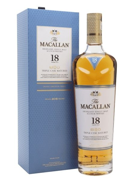 A Macallan 18 year Old: a traditional retirement gift for men