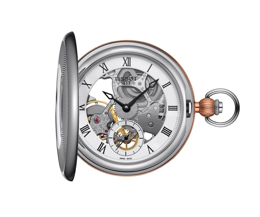 #3 luxury gifts for men who have everything: pocket watch by Tissot