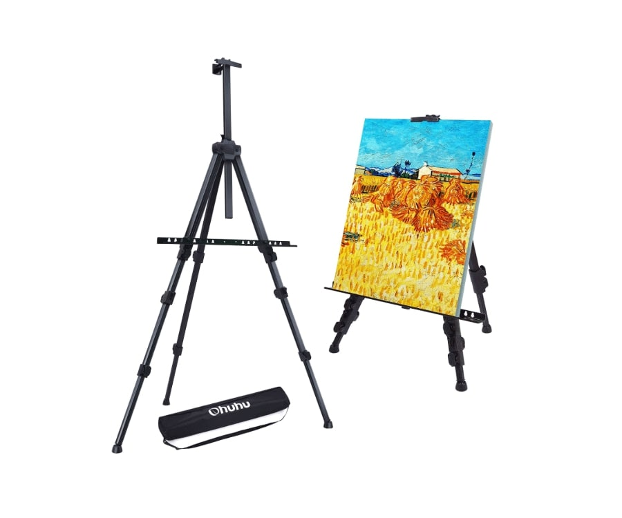 #9 best gifts for painters: portable easel