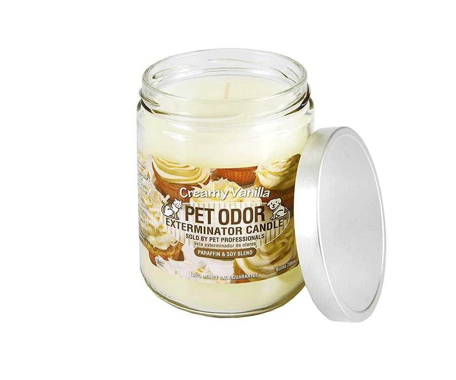 #10 unique & funny gifts for dog lovers: Pet Odour Eliminating Candle