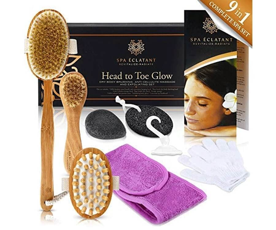 #11 Pamper & Relaxation gift sets for women: Exfoliation Set