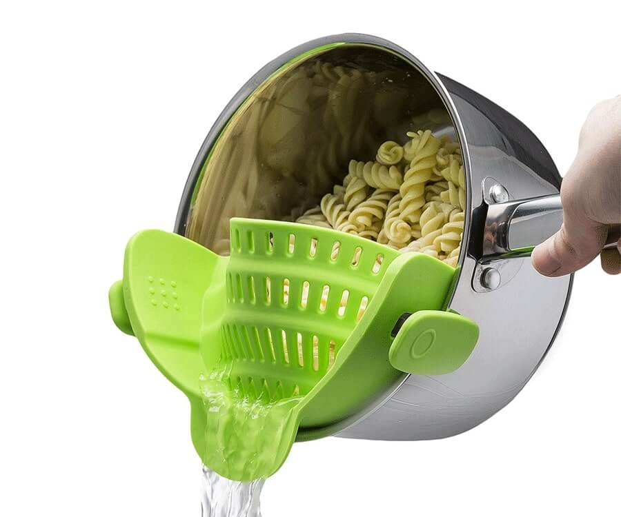 #16 Best Gifts for Foodies: Clip On Strainer