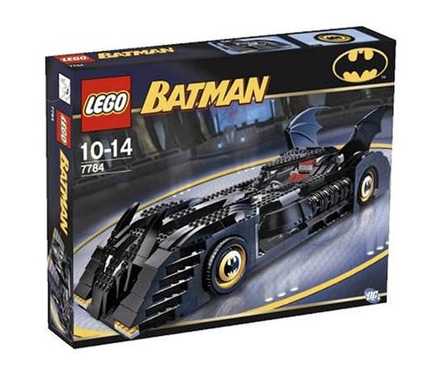 #12 cool lego gifts for adults: The Batmobile