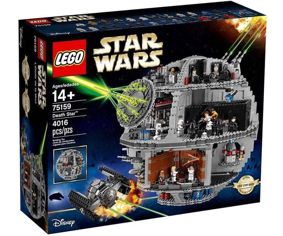 #17 cool lego gifts for adults: The Death Star