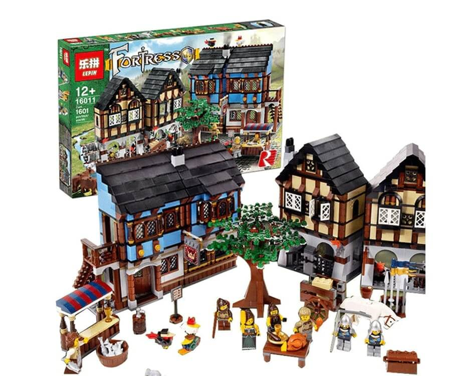 #14 cool lego gifts for adults: Medieval Market