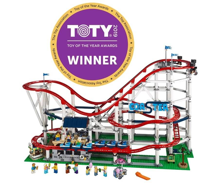 #15 cool lego gifts for adults: Roller Coaster