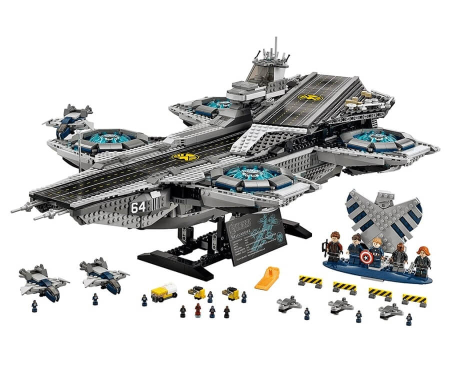 #13 cool lego gifts for adults: SHIELD Helicarrier