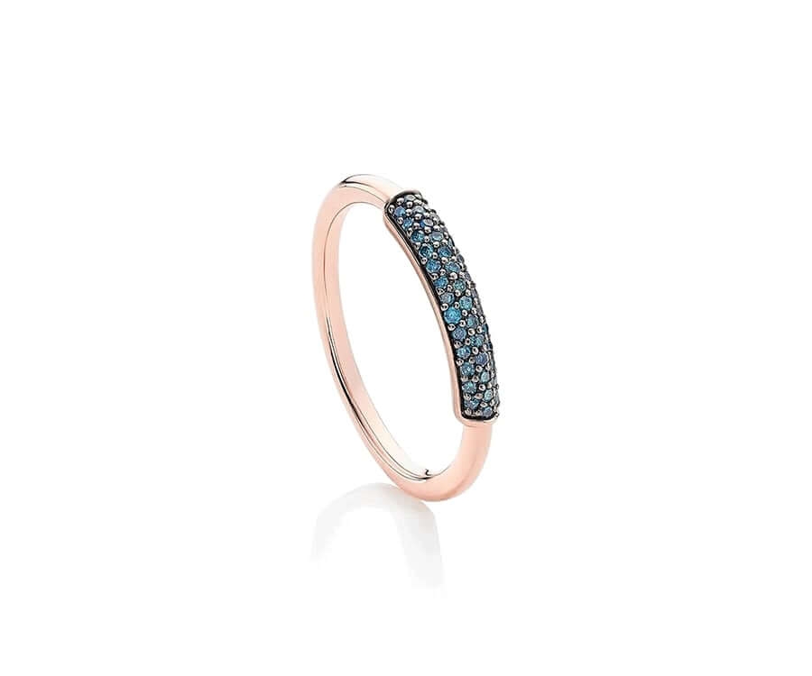#1 classic gifts for ladies: Diamond Bang Ring by Monica Vinader