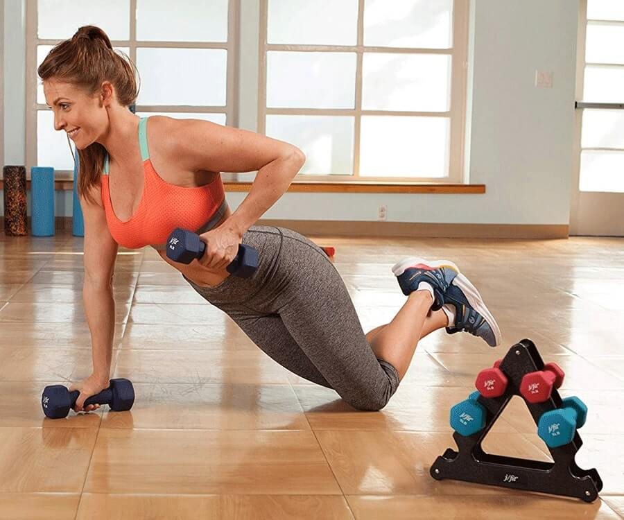 #18 Gym Gifts For Her: Dumbbell Set