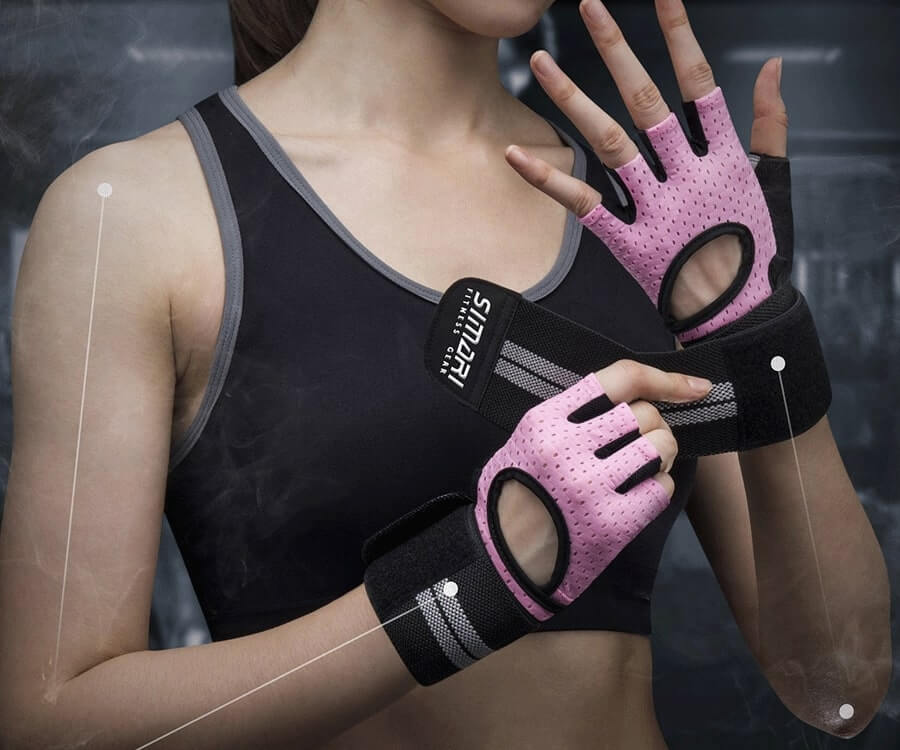 #19 Gym Gifts For Women: Workout Gloves