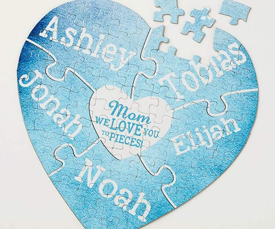 #22 Touching Gifts for Women: Love You To Pieces Puzzle