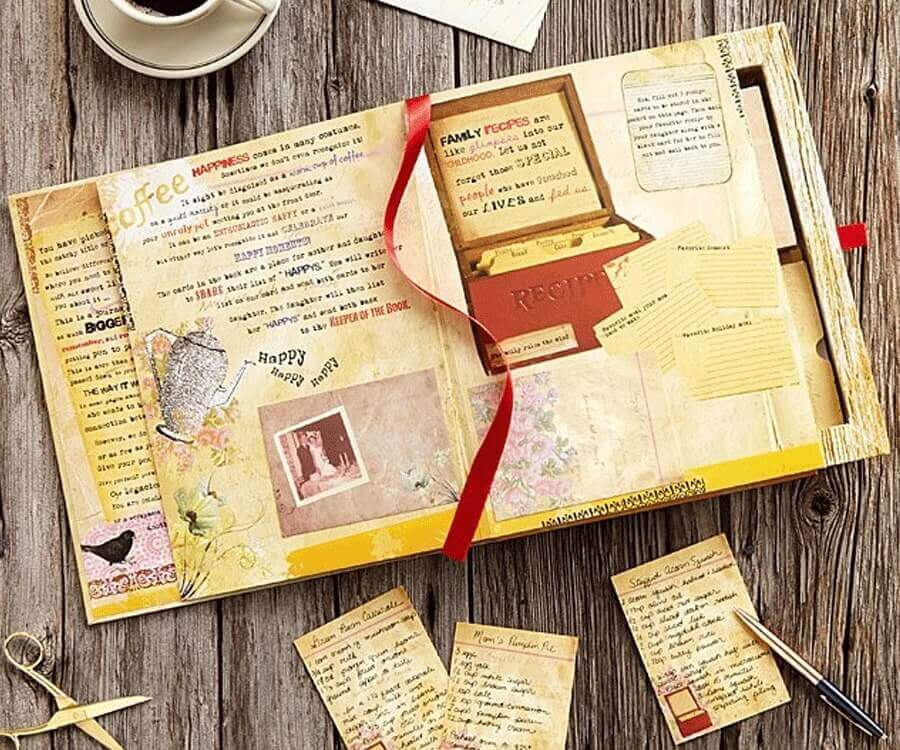 #21 Heartwarming Gifts for women: mother & daughter letter book