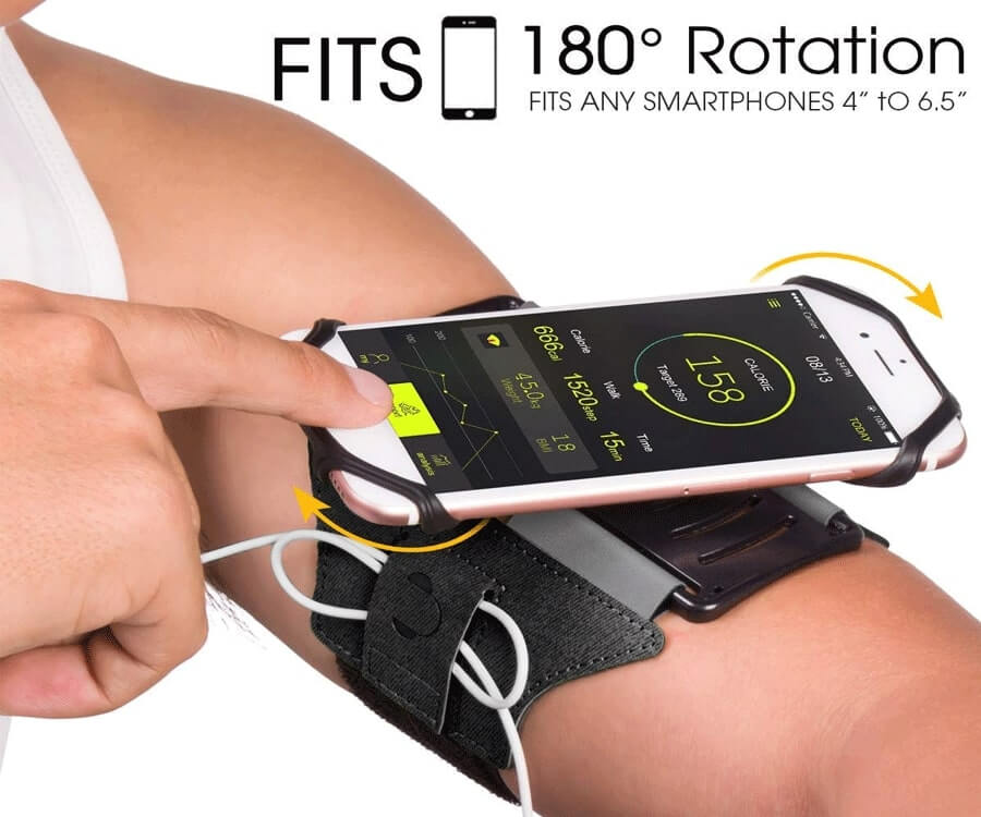#22 Workout Gifts For Her: Phone armband