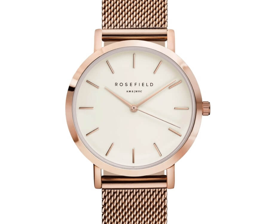#12 gift ideas for ladies: Rose Gold Watch