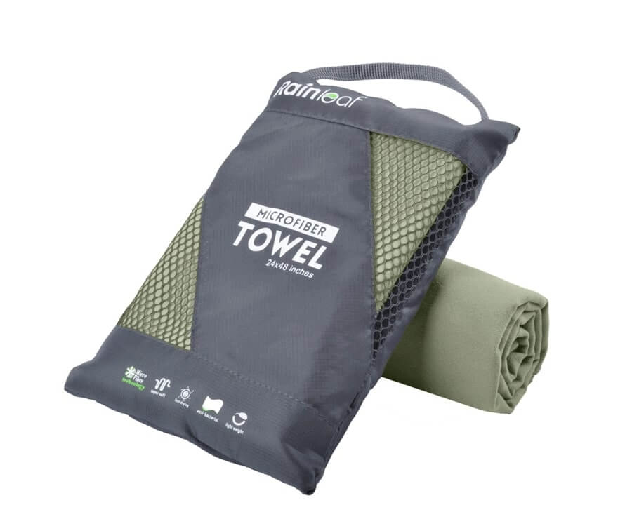 #19 great travel gift ideas for men: Super Compact Towel