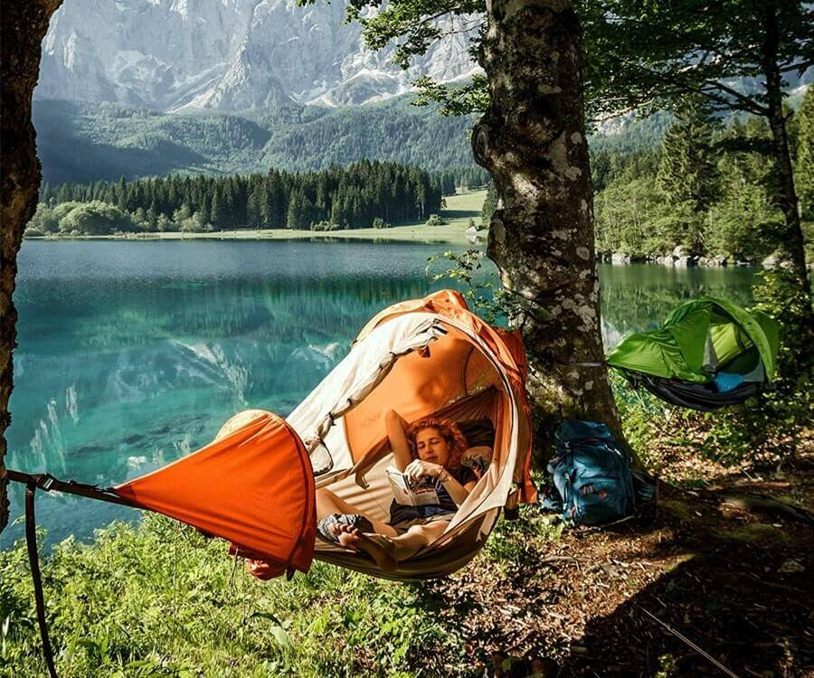 #2 unique travel gifts for men: The Flying Tent