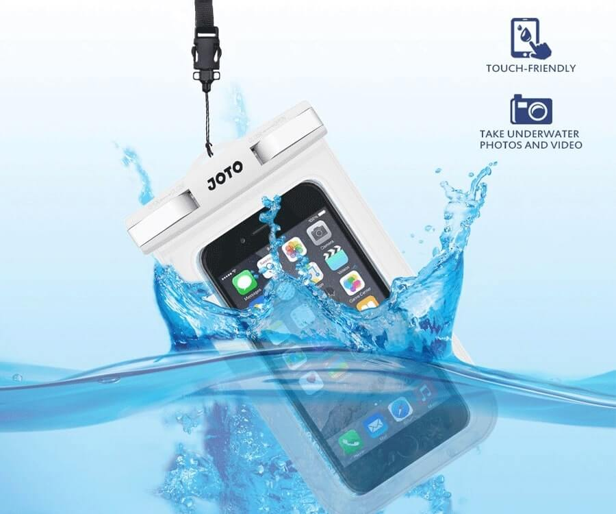 #16 great travel gift ideas for him: Waterproof Phone Pouch