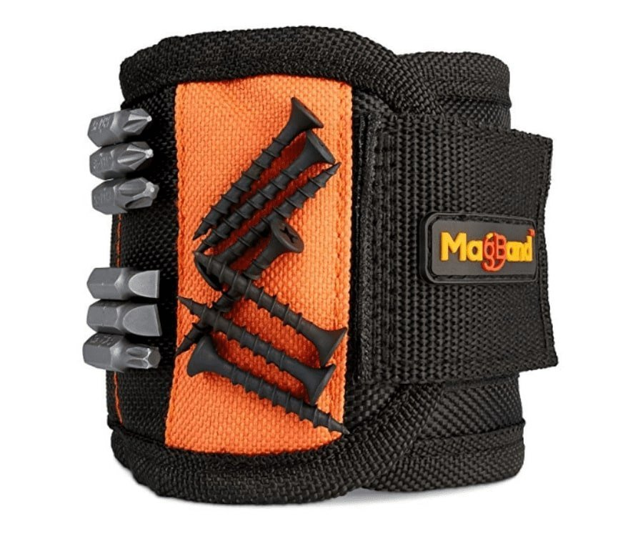 #13 gifts for welders: Magnetic Wristband For Tools & Screws