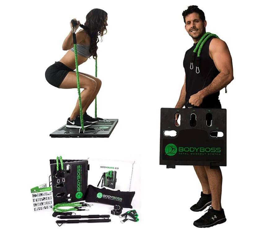 #30 gym gifts for him: Body Boss Home Gym