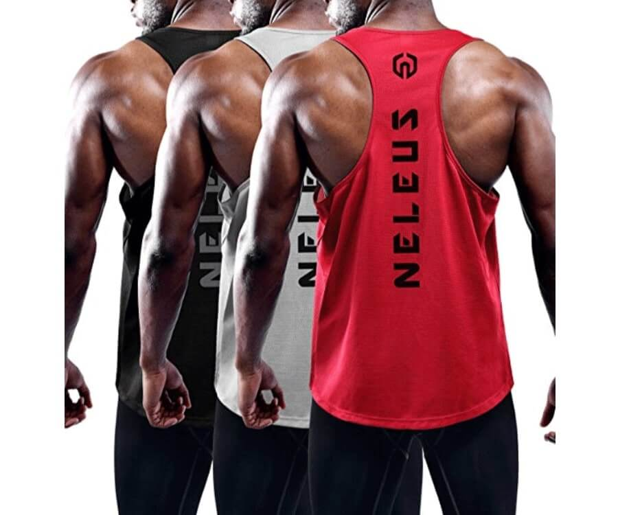 #13 gifts for fitness guys: Stylish Tank Top Set